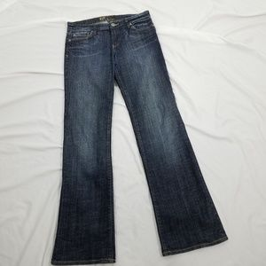Kut from the Kloth Bootcut size 6 Blue Jeans Long